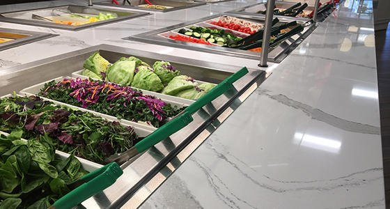 Penn Hospital Salad Bar With Colored Tongs Newsletters