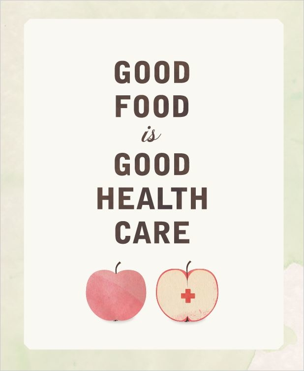 Good Foodis Good Healthcare Cover